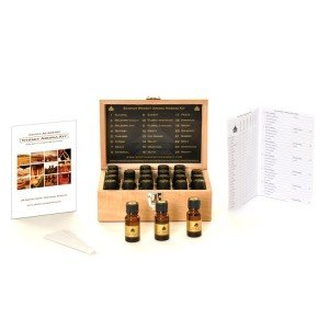 Whiskey Aroma Recognition Training Kit, Wooden Box