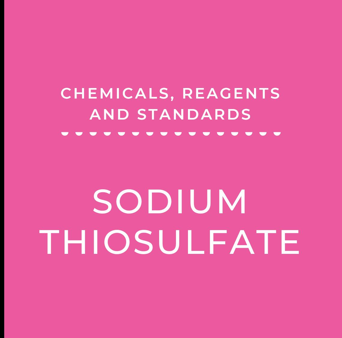 0.1N Sodium Thiosulfate