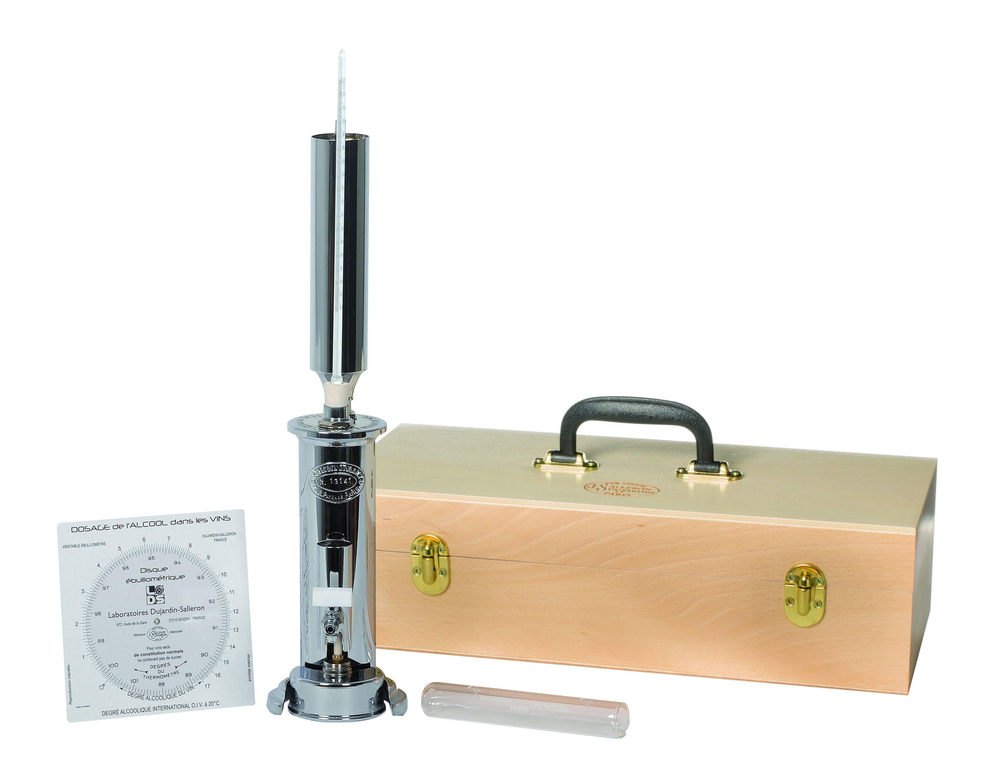 Traditional Alcohol Burning Ebulliometer