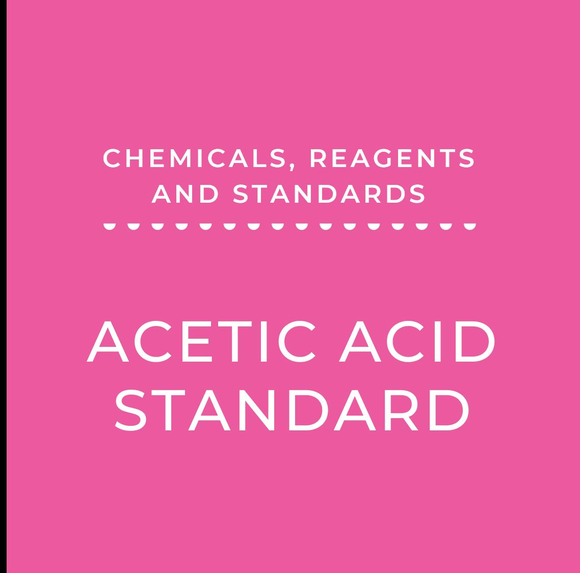 Acetic Acid Standard