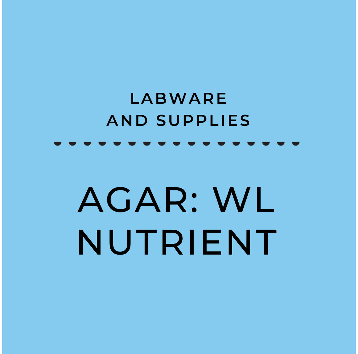 Agar: WL Nutrient