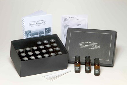 Gin Aroma Recognition Training Kit, Gift Box