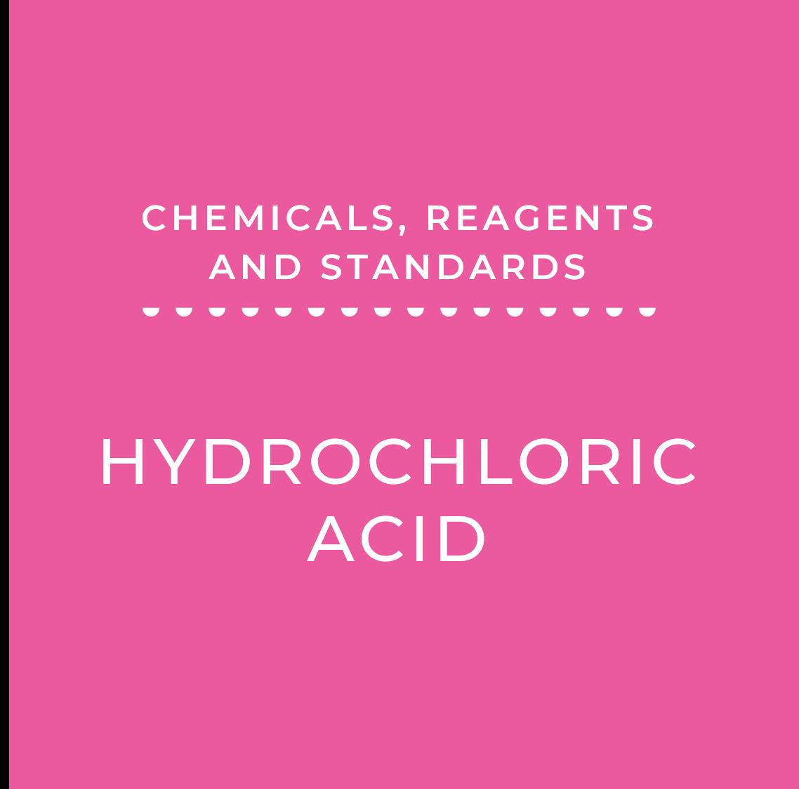 0.01N Hydrochloric Acid