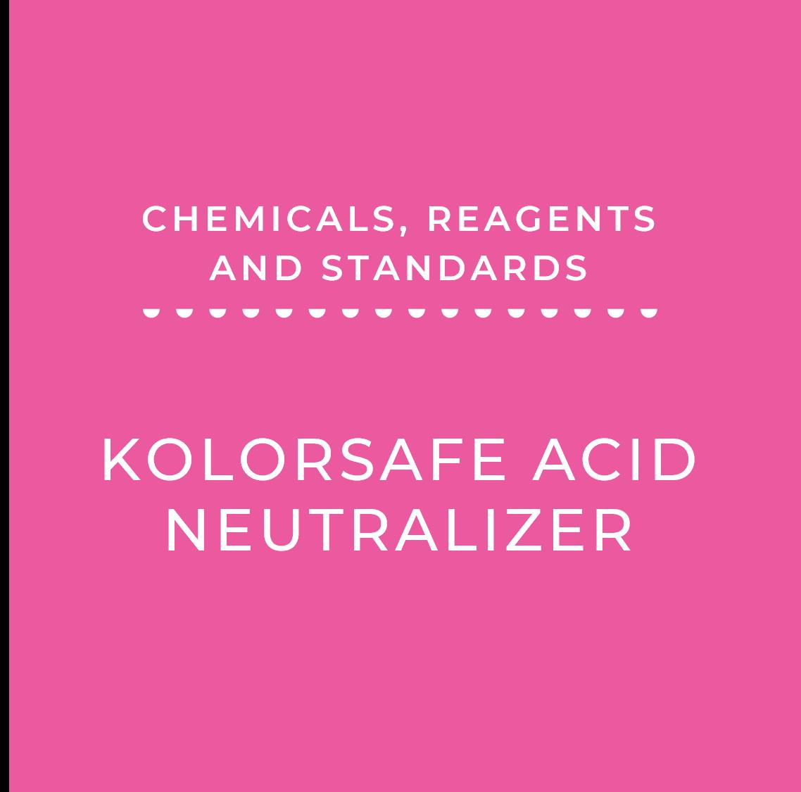 Kolorsafe Acid Neutralizer