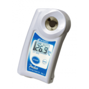 Atago Digital Handheld PAL-1 Refractometer, 0.0 to 53.0 Brix