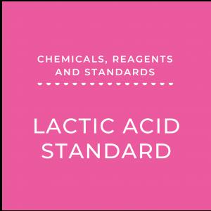 Lactic Acid Standard