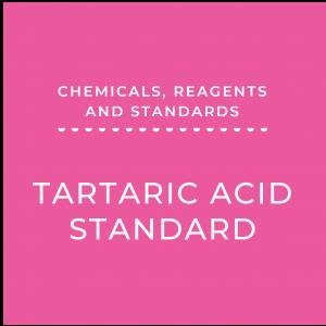 Tartaric Acid Standard
